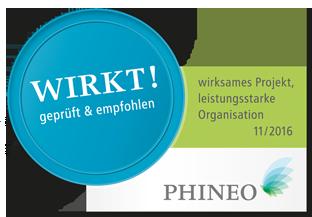 Wirkt-Siegel PHINEO